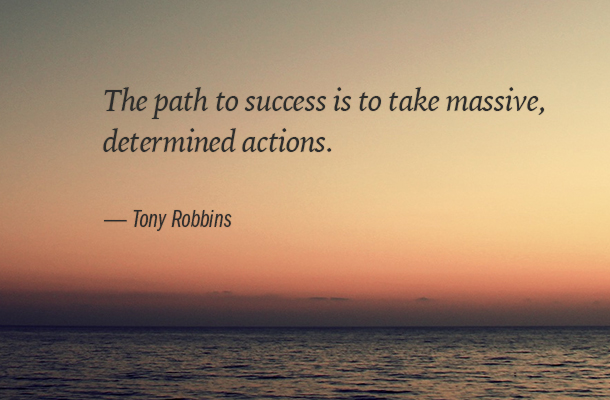 taking actions for success